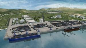 Rendu du plan de Port Lafito