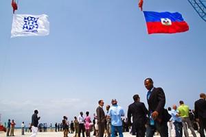 Port Lafito inauguration