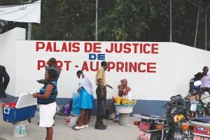SEULEMENT UN QUART DES HAÏTIENS ont accès à la justice. Photo par : T. MORA LIAUTAUD / CHALLENGES