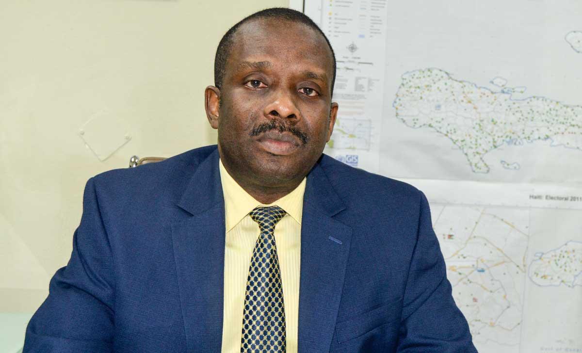 UDER ANTOINE est directeur exécutif du Conseil électoral provisoire depuis le 23mai dernier.