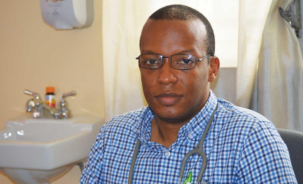 JACQUES ALAIN PELLETIER, directeur exécutif de la Société haïtienne de Pédiatrie.