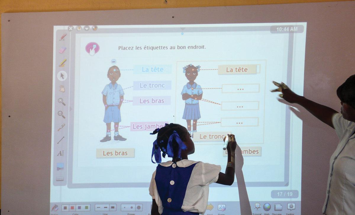 LES NOUVELLES TECHNOLOGIES demandent également une formation des enseignants.