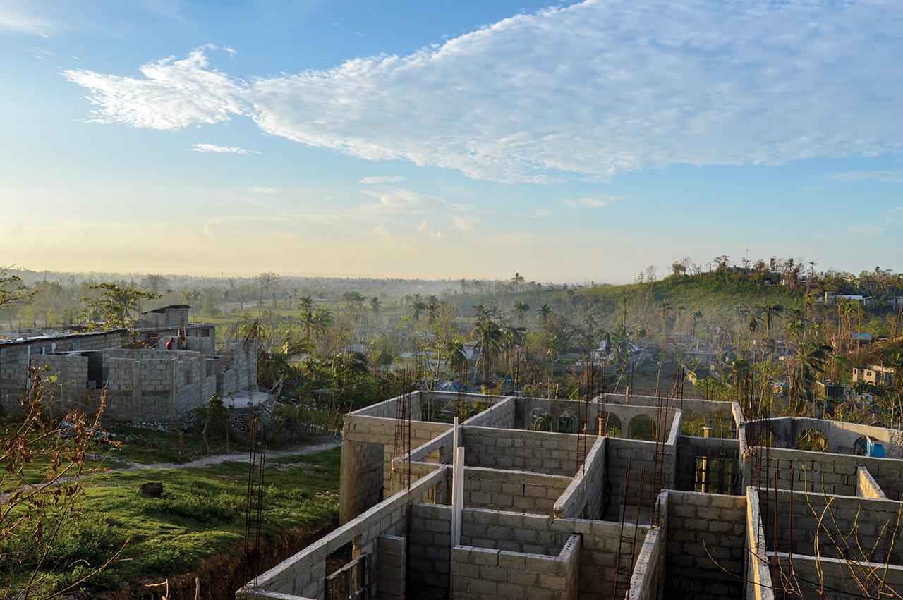 1500 maisons ont été détruite