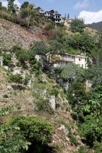 LES CONSTRUCTIONS au niveau des bassins-versants se multiplient dans la région métropolitaine de Port-au-Prince