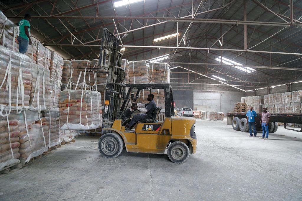 DEPUIS le séisme de janvier 2010, l'accent est mis sur la qualité des matériaux de construction