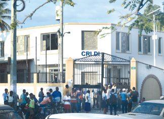 Le centre de réception et de livraison des documents d'identité de Delmas. Cossy Roosevelt/ Challenges.