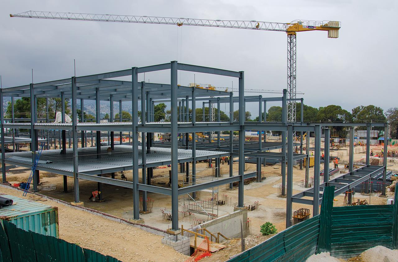Les constructions respectent les normes parasismiques. Cossy Roosevelt/ Challenges