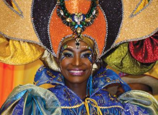 La Reine des reines du carnaval 2018: Jérusane Mondélus.