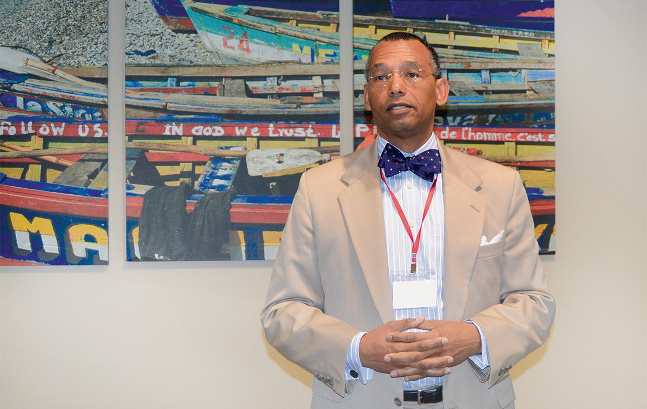 Ghislain Gouraige Jr (président du comité exécutif ACT).