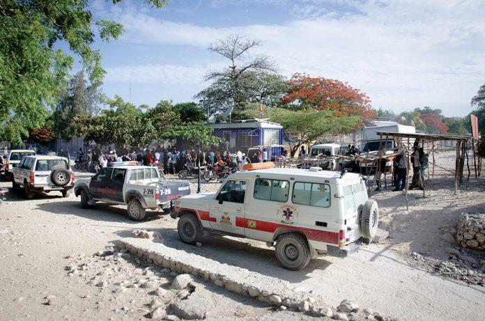 Des entités dont le MSPP apportent leur assistance aux réfugiés. Georges H. Rouzier/ Challenges