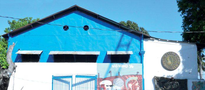 Le bâtiment de l'ecole nationale des arts (enarts). Timothe Jackson/ Challenges