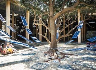 Les volets bleus de la maison de Pascale. David Damoison