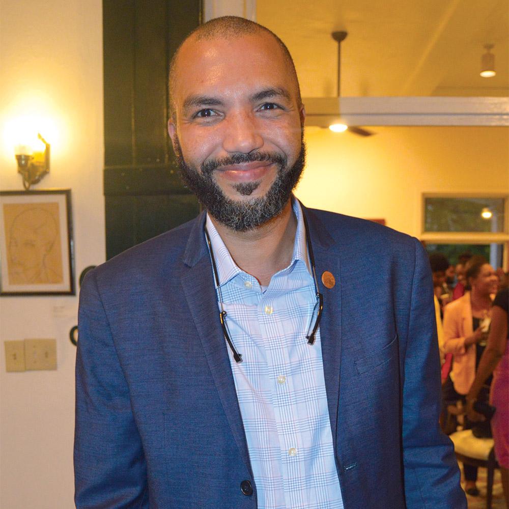 Gamal Augustin, directeur général de la TNH.