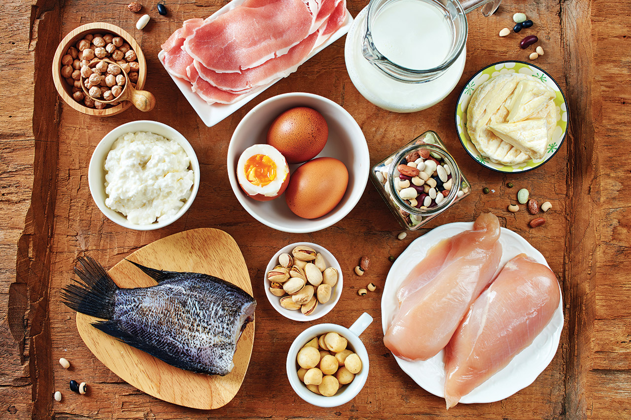 Aliments constructeurs. Istock/ Getty Images