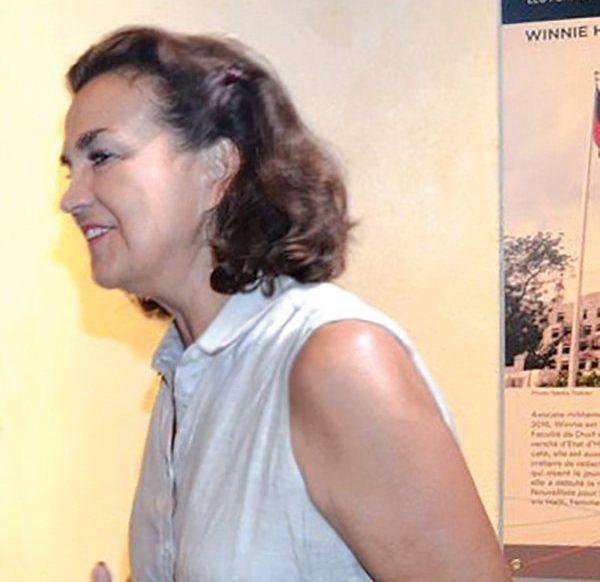 Mme Elisabeth Beton Delègue , Ambassadeur De France En Haïti.