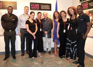 Toute l'équipe en charge de l'exposition fanm vanyan