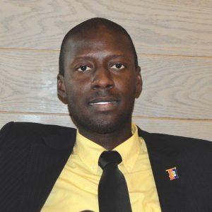 Fernando Estimé, spécialiste en relation internationale.Timothe Jackson/ Challenges
