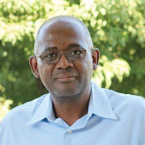 Frédéric Gérald Chéry, économiste.<br />Rapl Thomassaint/ Challenges