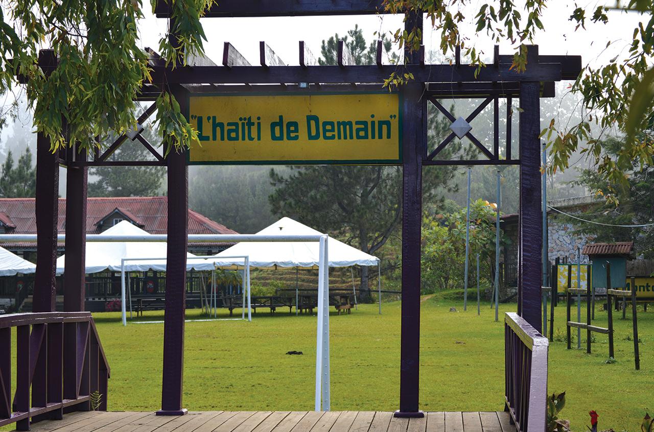 Un espace aménagé pour les touristes à Le Montcel. Cossy Roosevelt / Challenges