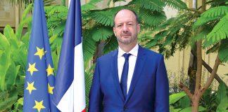 José Gomez, le nouvel ambassadeur français en Haïti. Ambassade De France