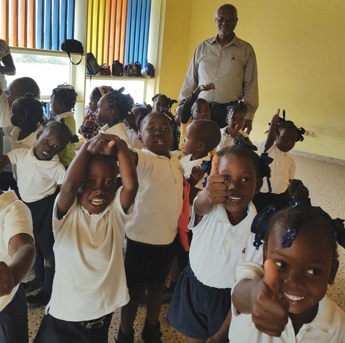 Un centre de la petite enfance (CPE). Faidlyne Policard