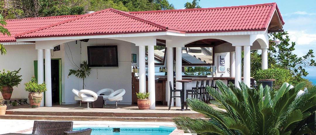Une vue de l'Habitation Jouissant, Cap-Haïtien.