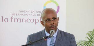 Jean Michel Lapin, ministre démissionnaire de la Culture et de la Communication. Photographies par UNGPH