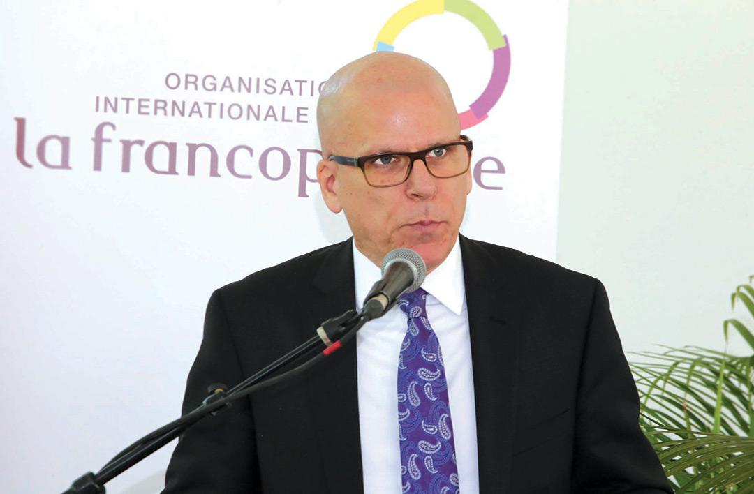 André Frenette, ambassadeur du Canada en Haïti.
